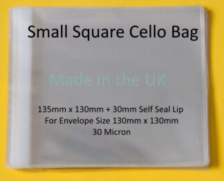 Small Square 135mm x 130mm Cello