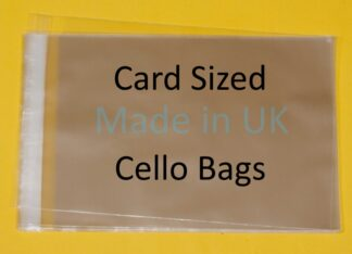 Card Sized Cello Bags
