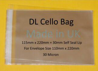 DL Cello 115 x 220mm