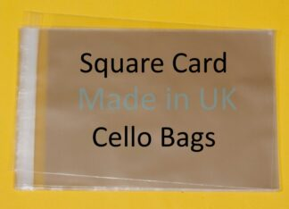 Square Card Cello Bags