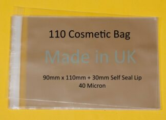 110 Cosmetic Bag - 90mm x 110mm