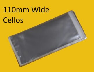 110mm Wide Cello Bags