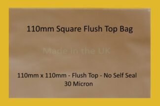 110mm Square Flush Top Cello