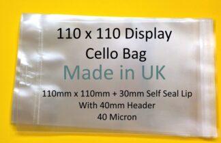 Small Square Card Display Cello
