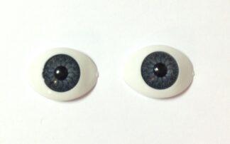 11mm Grey BJD Oval Eyes