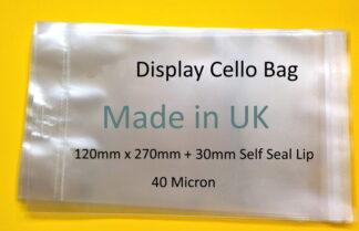 120mm x 270mm Display Bag