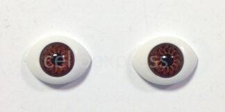 10mm Brown BJD Oval Eyes