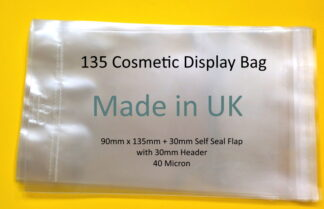90 x 135mm Display Cello Bags
