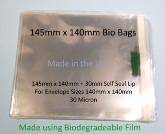 Bio Bags - 145mm x 140mm
