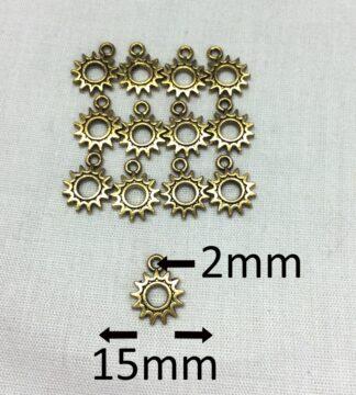 Antique Golden 15x2x2mm