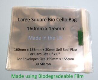Bio Bags - 160mm x 155mm