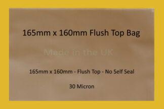 165mm x 160mm Flush Top
