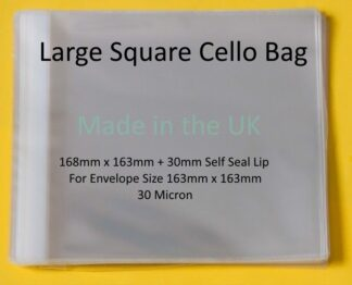 Large Square 168mm x 163mm Cello