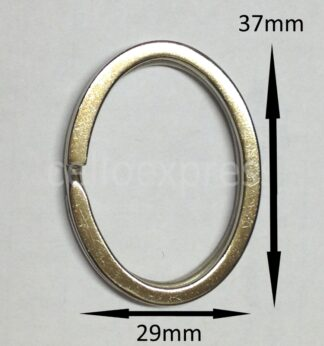 Oval Double Loops