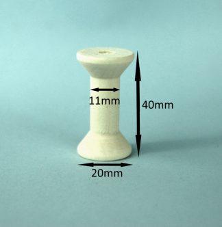 Wooden Spools 20mm x 40mm