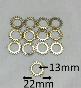 Antique Golden 22x1.5x13.5mm