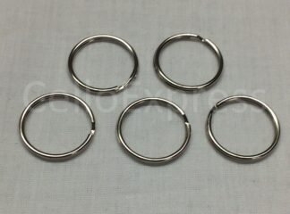 Double Loop Split Rings