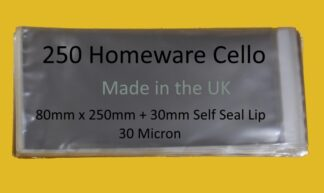 250 Homeware - 80mm x 250mm