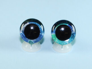 3D Blue & Green Eyes