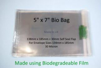 Bio Bags - 5 x 7