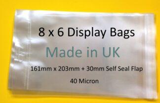 8x6 Display Cello Bag