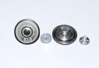 20mm A&A Silver Jean Studs
