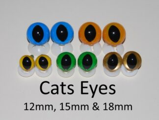 Cats Eyes with Plastic Back