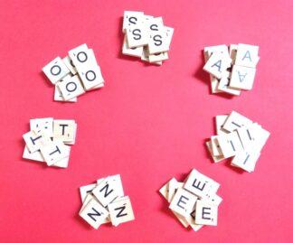 Same Letter Scrabble Tile Bags