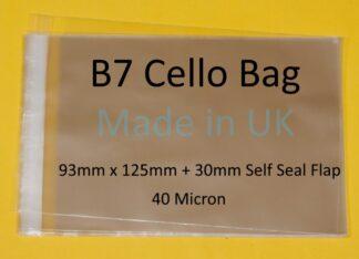 B7 Cellos - 93mm X 125mm