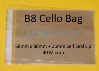 B8 Cellos- 68mm x 88mm