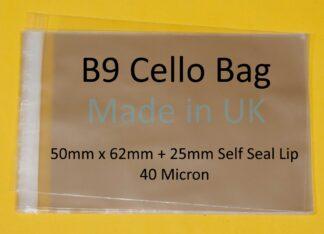 B9 Cellos - 50mm x 62mm