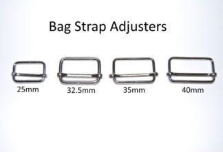 Bag Strap Slide Adjusters