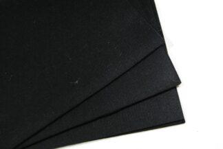 Black A4 Felt Squares