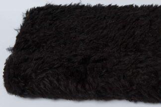 Black Curly Fur