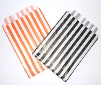 """7"""" x 9"""" - Black&Orange Sweet Bag"""