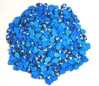 9x12mm Blue Bees