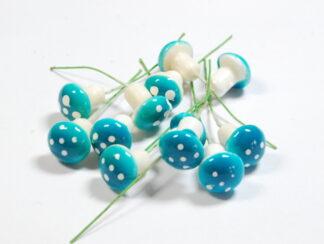 Blue Mini Mushrooms