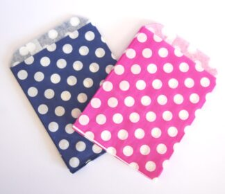 "7"" X 9"" - Blue & Pink Sweet Bags"