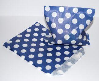 "7"" x 9"" - Blue Paper Sweet Bags"