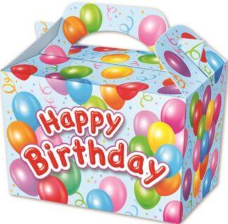 Boy's Happy Birthday Party Boxes