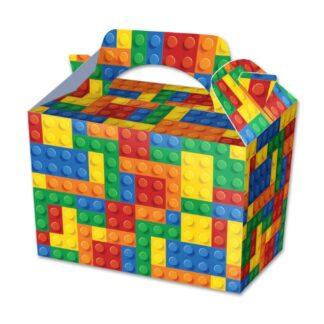 Bricks Party Food Boxes