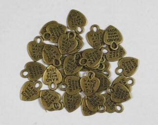 Antique Bronze - Heart