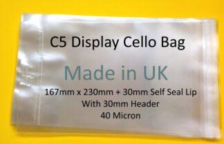 C5 Card Display Bags