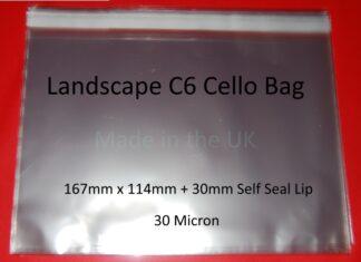 Landscape C6 Cellos - 167x114mm