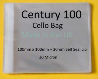Century 100 Bags - 100mm x 100mm