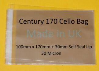 Century 170 Bags - 100mm x 170mm