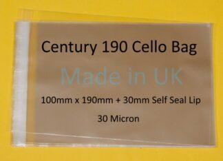 Century 190 Bags - 100mm x 190mm