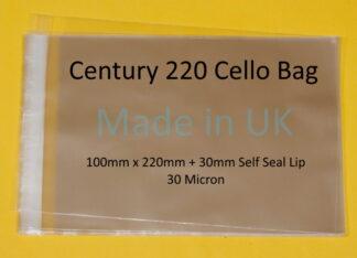 Century 220 Bags - 100mm x 220mm
