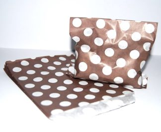 """5"""" x 7"""" - Chocolate Brown Bags"""
