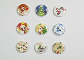 Character Wooden Buttons
